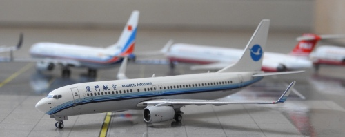 XiamenAir 厦门航空 Boeing 737-800 B-5146  PMB5146 Pandamodel 1:400