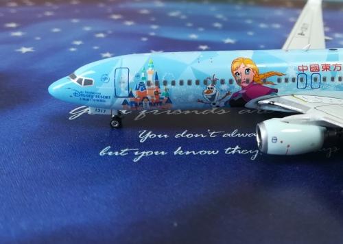 China Eastern 中国东方航空 Boeing 737-800 B-1317 冰雪奇缘 PH04323 Phoenix 1:400