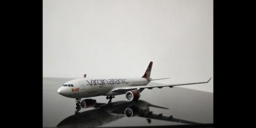 Virgin Atlantic Airways 维珍航空 Airbus A330-200 G-VMIK  GJVIR1763 Geminijets 1:400
