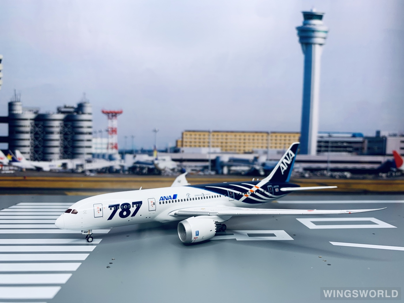 JC Wings 1:400 XX4043 ANA 全日空 Boeing 787-8 JA802A