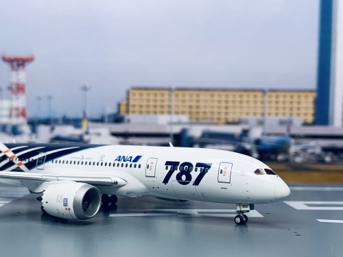ANA 全日空 Boeing 787-8 JA802A  XX4043 JC Wings 1:400