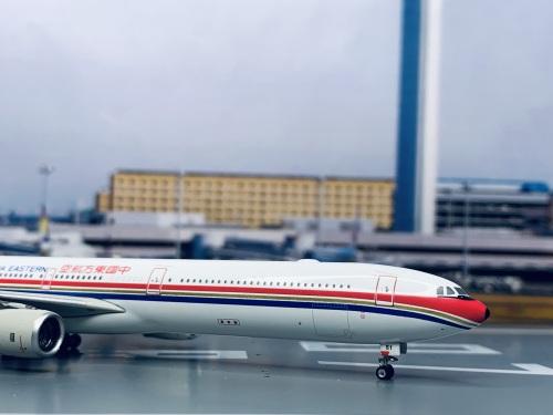 China Eastern 中国东方航空 Airbus A340-600 B-6051  PH10463A Phoenix 1:400