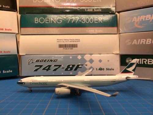 Cathay Pacific 国泰航空 Airbus A330-300 B-LBB  PH04034 Phoenix 1:400