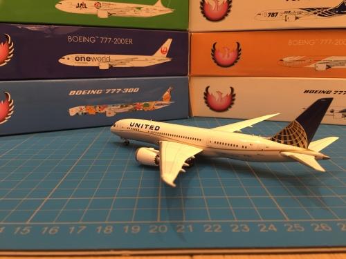 United Airlines 美国联合航空 Boeing 787-8 N27901