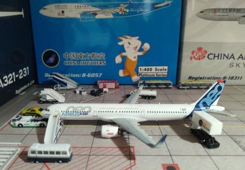 Airbus 空中客车 Airbus A321neo F-AVXA  HYJL81009 HYJLwings 1:400