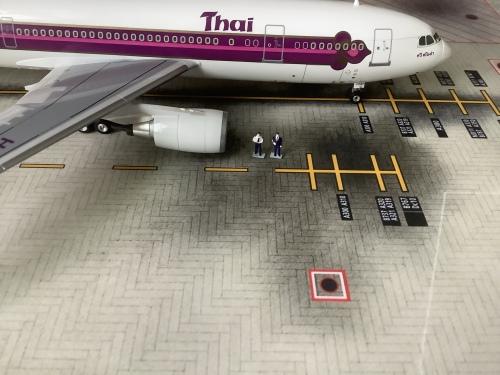 Thai Airways 泰国国际航空 Airbus A300-600 HS-TAB  016292 Herpa Premium 1:200