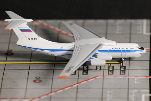 Aeroflot 俄罗斯航空 Ilyushin Il-76 RA-76489  AC4RA76489 AeroClassics 1:400