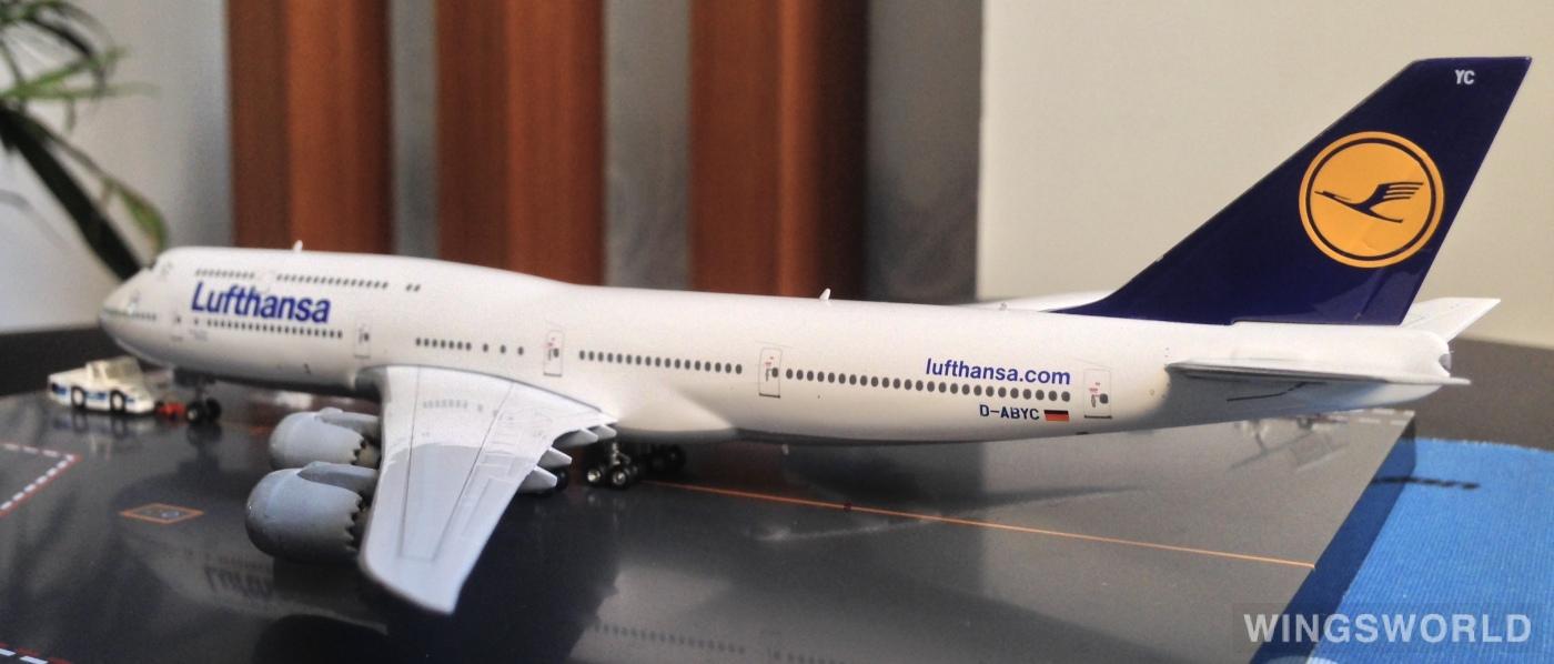 Geminijets 1:400 GJDLH1047 Lufthansa 汉莎航空 Boeing 747-8 D-ABYC