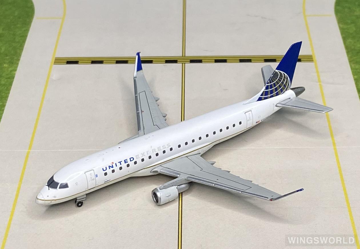 Geminijets 1:400 GJUAL1728 United Express 美联航快运 Embraer ERJ-175 N163SY