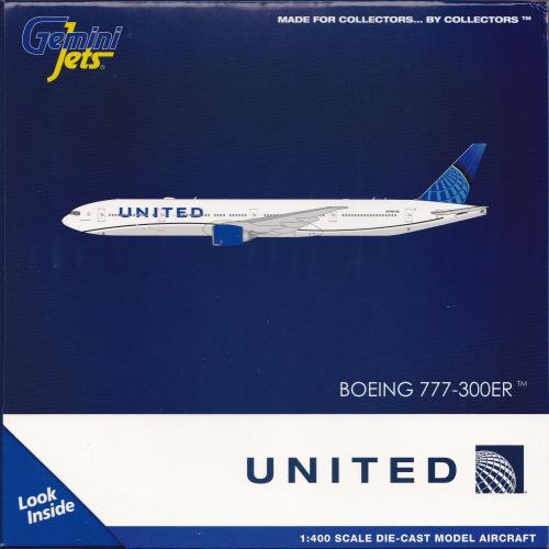 United Airlines 美国联合航空 Boeing 777-300ER N2749U  GJUAL1922 Geminijets 1:400