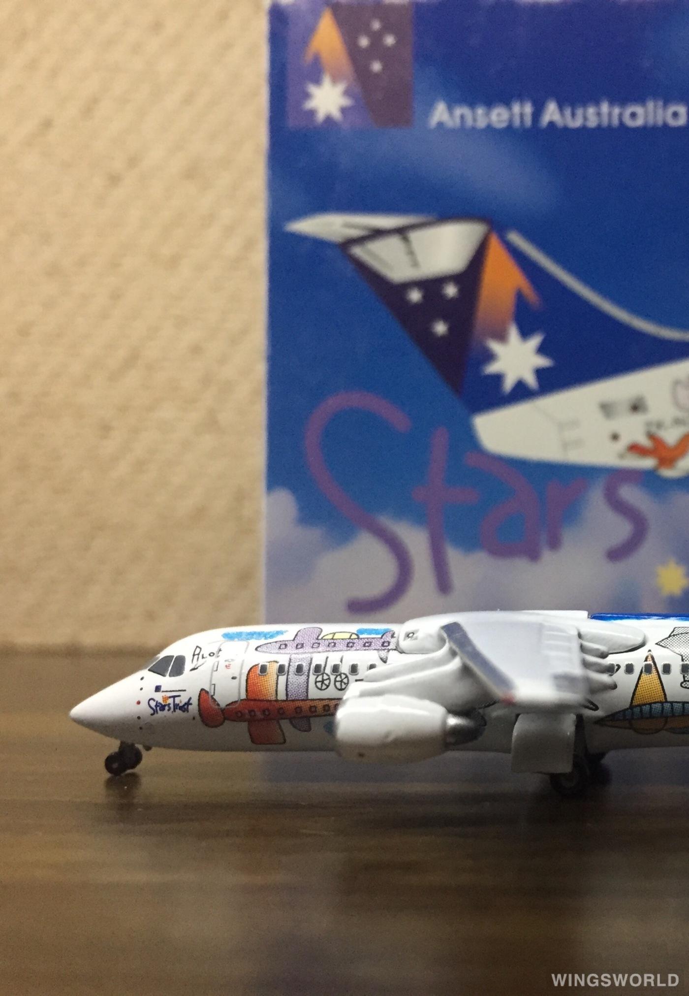 Jet-X 1:400 JET339 Ansett 澳洲安捷航空 BAe 146 ZK-NZJ