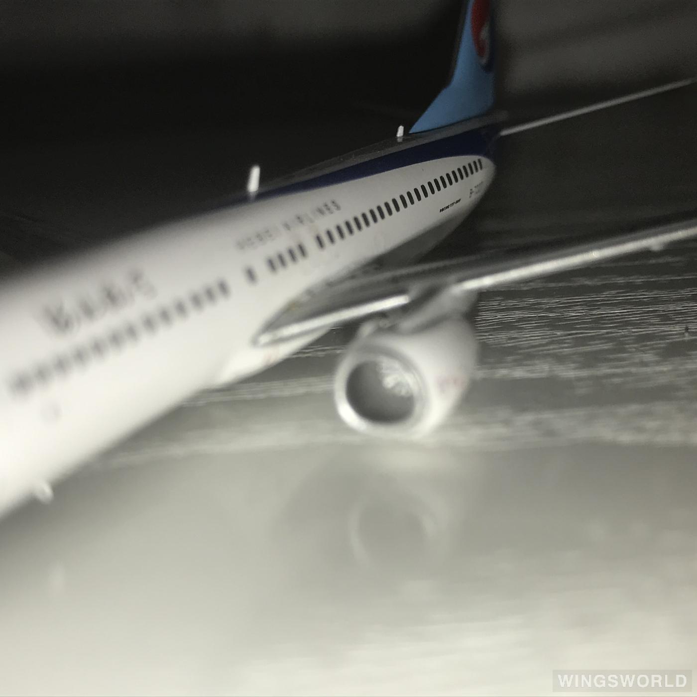 JC Wings 1:400 XX4127 Hebei Airlines 河北航空 Boeing 737-800 B-7227