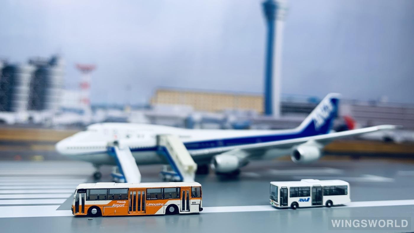 Hogan 1:400 NHG40071 ANA 全日空 Boeing 747-100 JA8157
