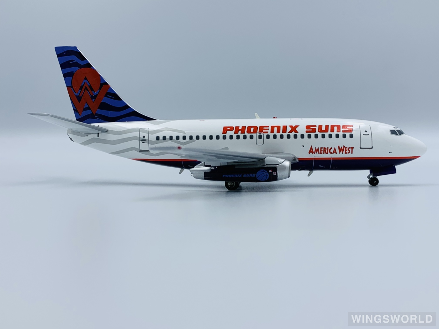 Inflight200 1:200 IF7311113 America West Airlines 美西航空 Boeing 737-100 N708AW