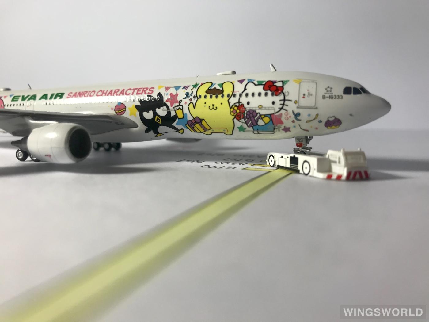 JC Wings 1:400 ALB4EVA04 EVA Air 长荣航空 Airbus A330-300 B-16333