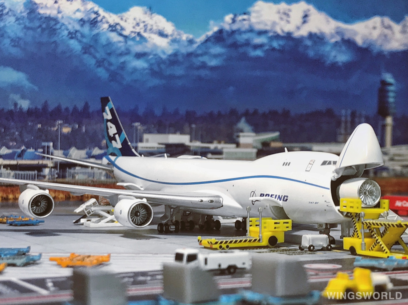JC Wings 1:400 LH4169C Boeing 波音公司 Boeing 747-8 N50217