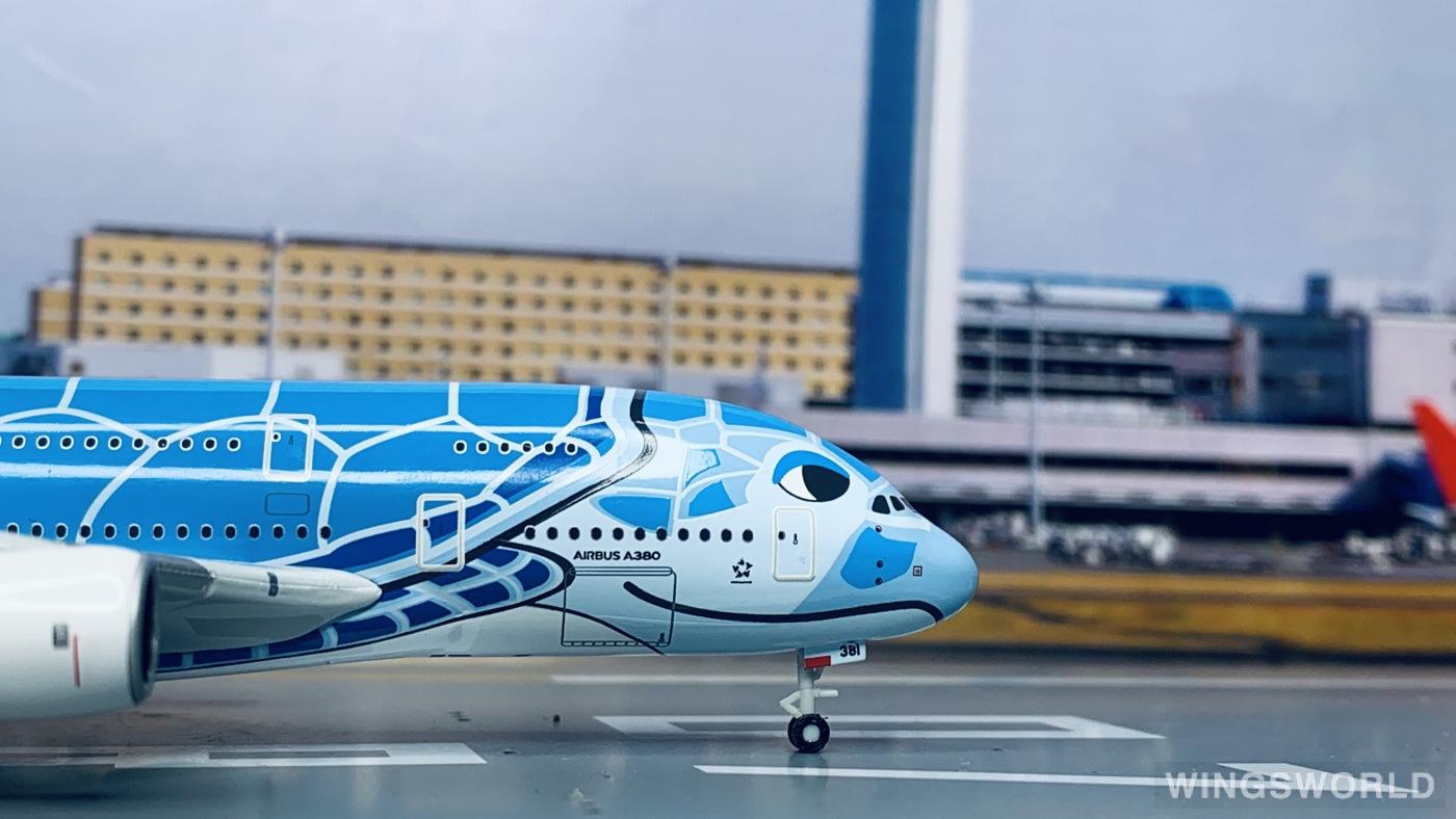 Hogan 1:400 NH40099 ANA 全日空 Airbus A380-800 JA381A