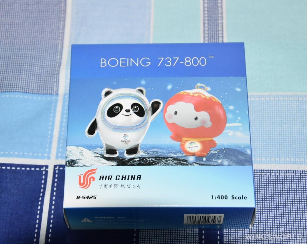 Phoenix 1:400 PH04356 Air China 中国国际航空 Boeing 737-800 B-5425