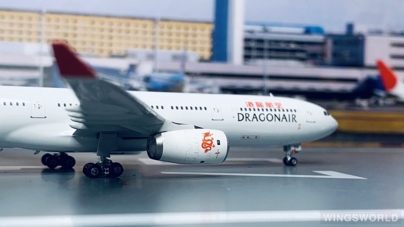 Phoenix 1:400 PH04352 Dragonair 港龙航空 Airbus A330-300 B-HYH