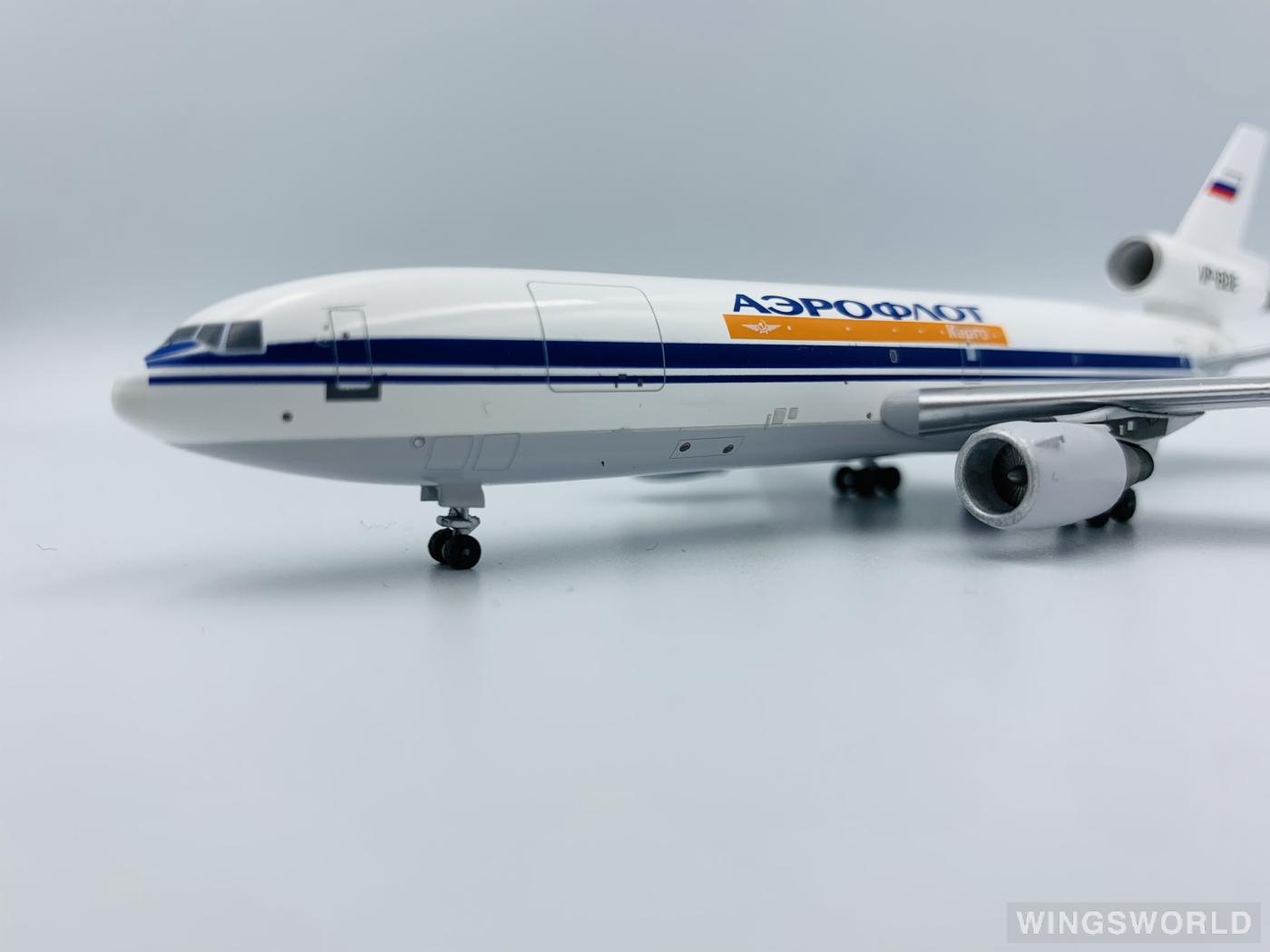AeroClassics 1:400 AC4VPBDE Aeroflot 俄罗斯航空 McDonnell Douglas DC-10 VP-BDE