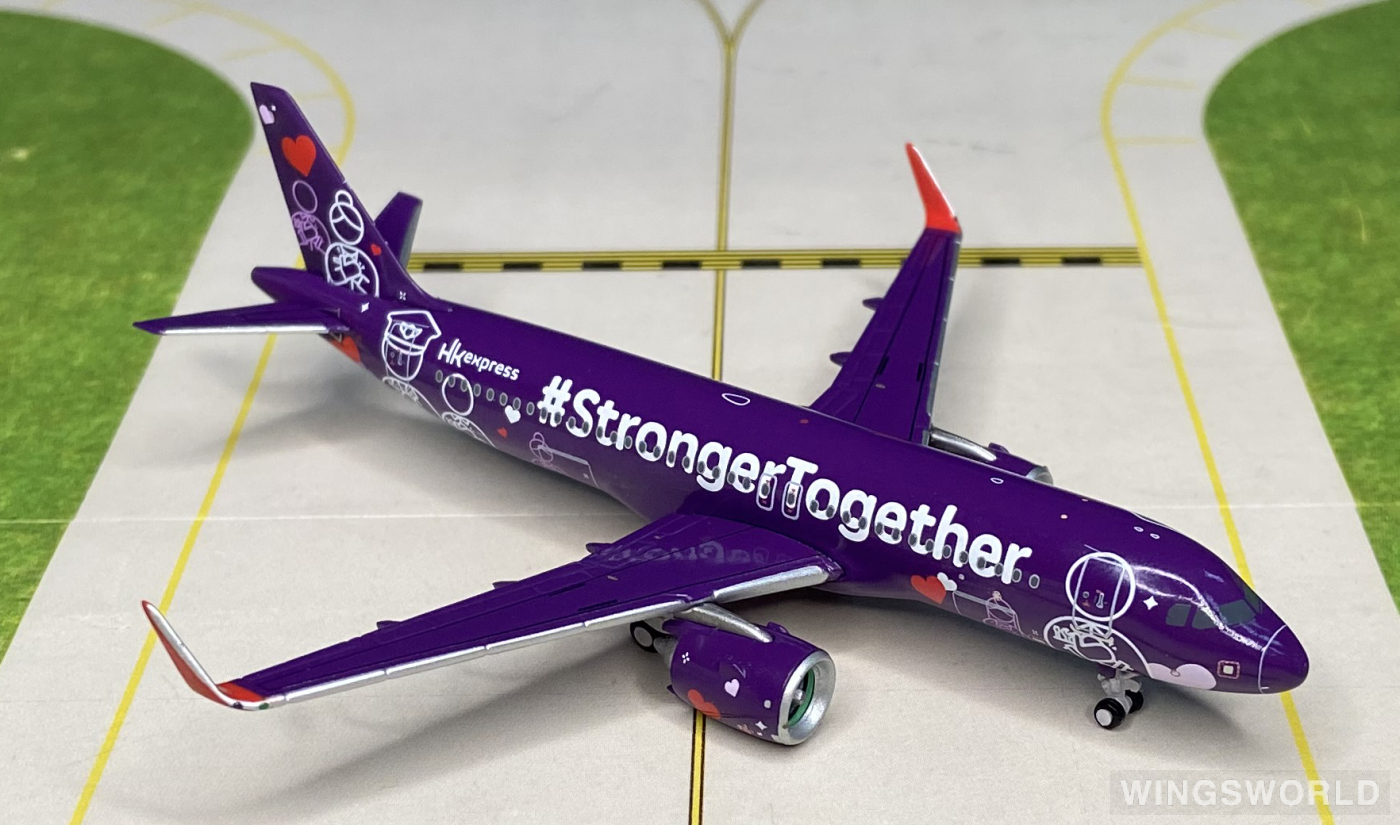 JC Wings 1:400 UO4006 HK Express 香港快运航空 Airbus A320neo