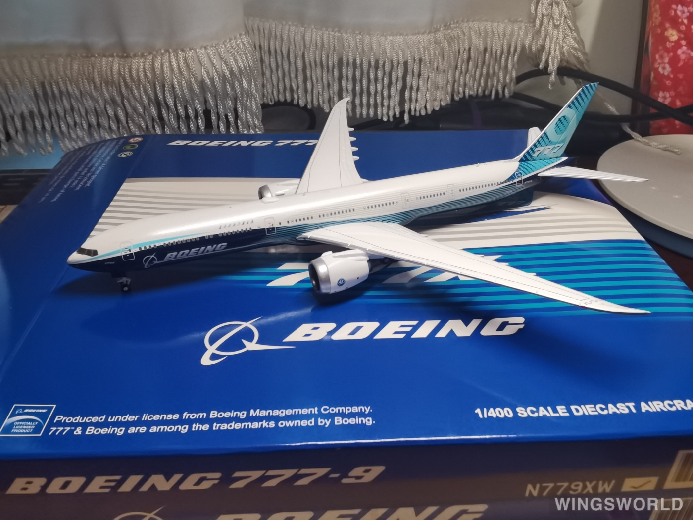 JC Wings 1:400 LH4160 Boeing 波音公司 Boeing 777-9 N779XW