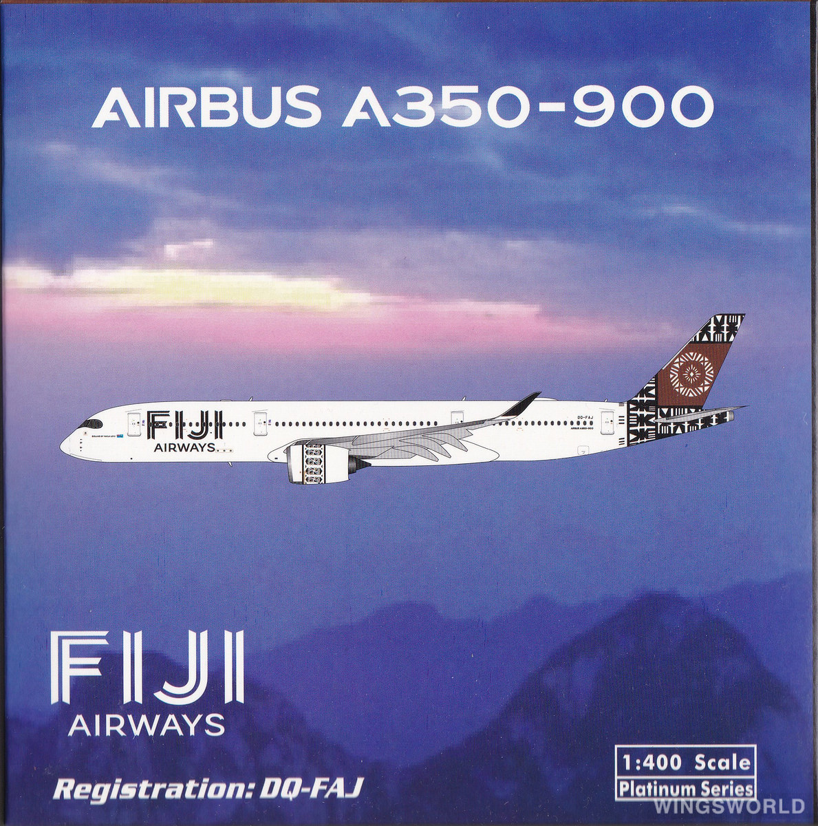 Phoenix 1:400 PH11642 Fiji Airways 斐济航空 Airbus A350-900 DQ-FAJ