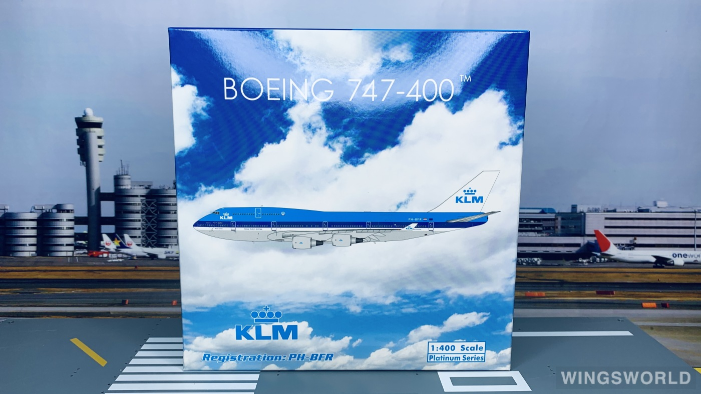 Phoenix 1:400 PH11644 KLM 荷兰皇家航空 Boeing 747-400 PH-BFR
