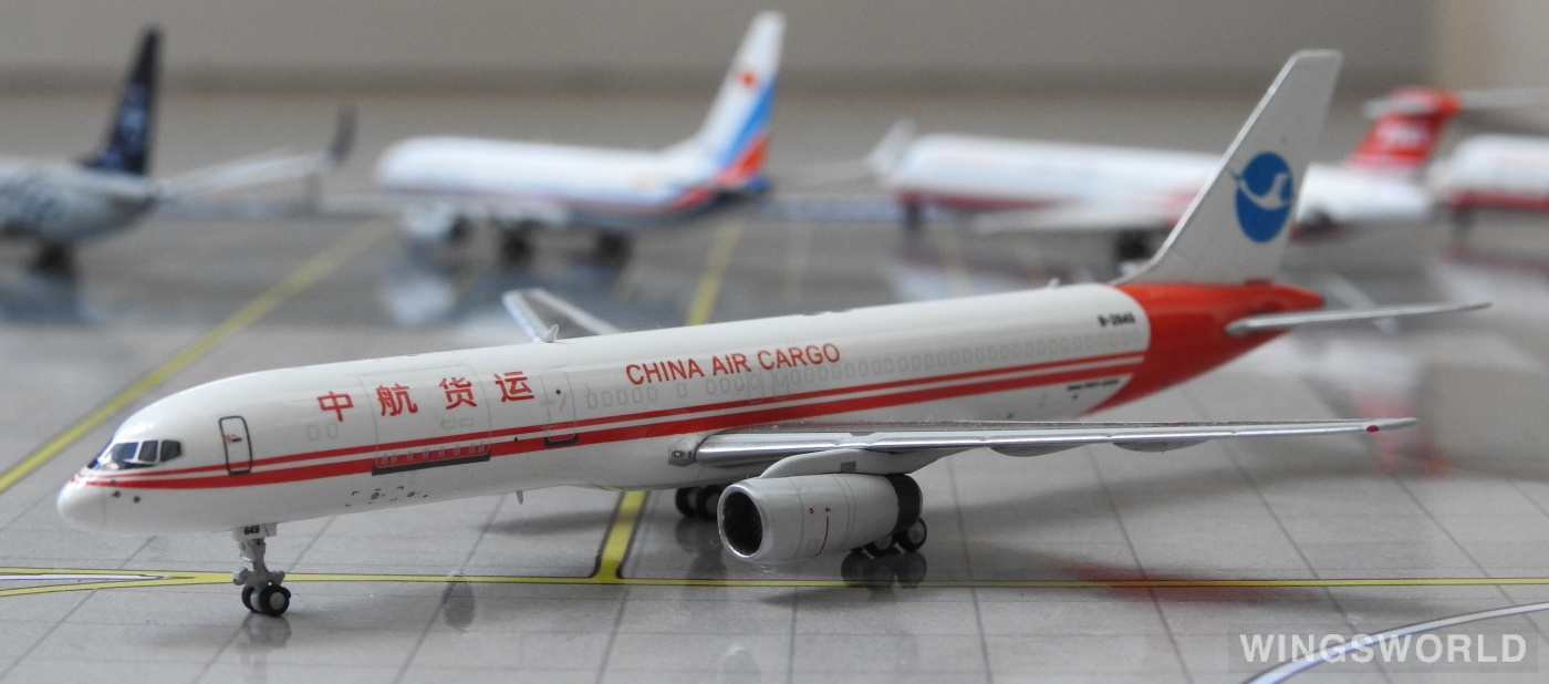 HYJLwings 1:400 HYJL57006 China Air Cargo Corp 中航货运航空 Boeing 757-200 B-2849