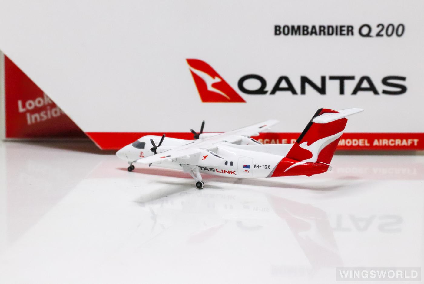 Geminijets 1:400 GJQFA1856 Qantas 澳洲航空 Bombardier Dash 8-200 VH-TQX