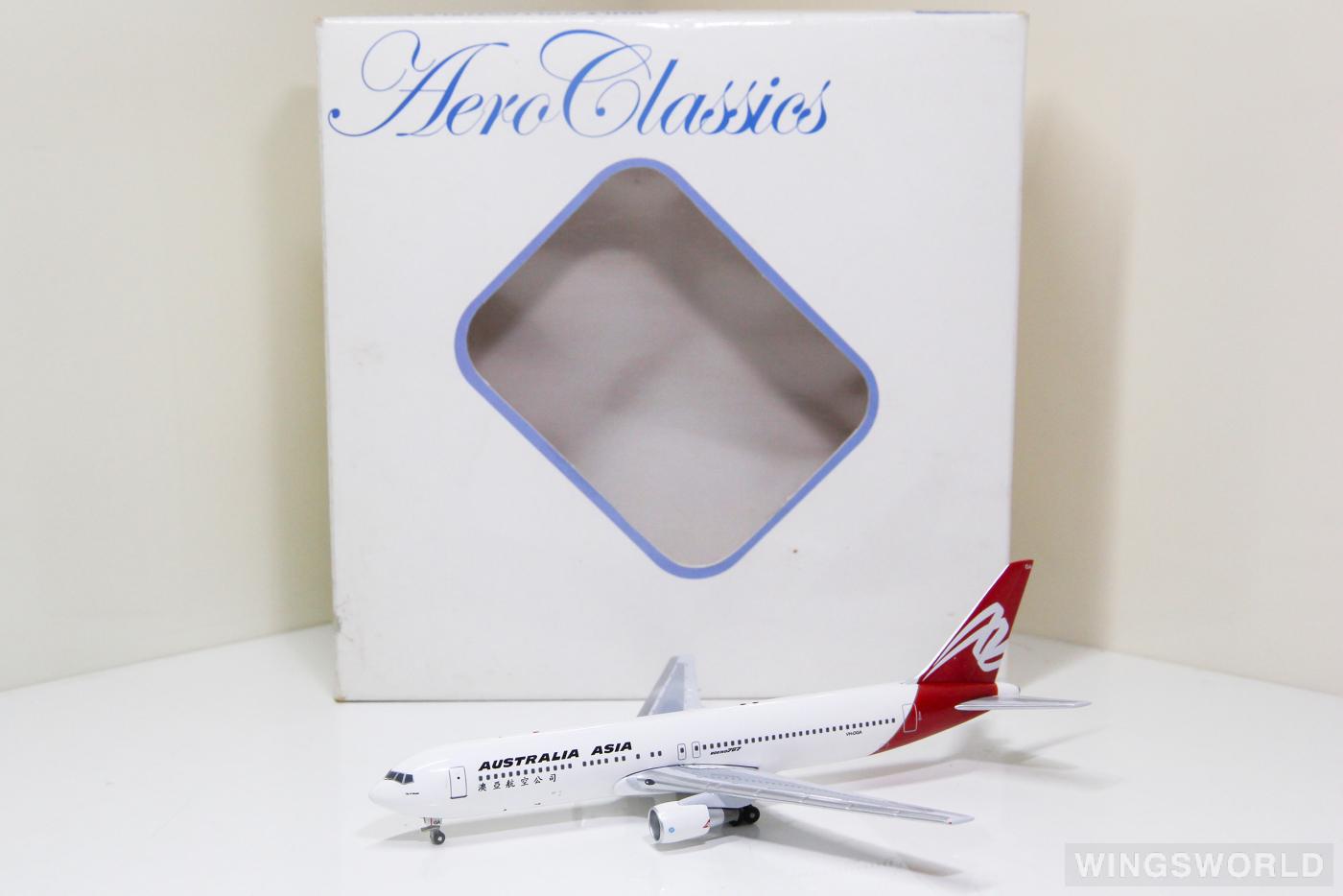 AeroClassics 1:400 ACQFA029 Australia Asia Boeing 767-300 VH-OGA