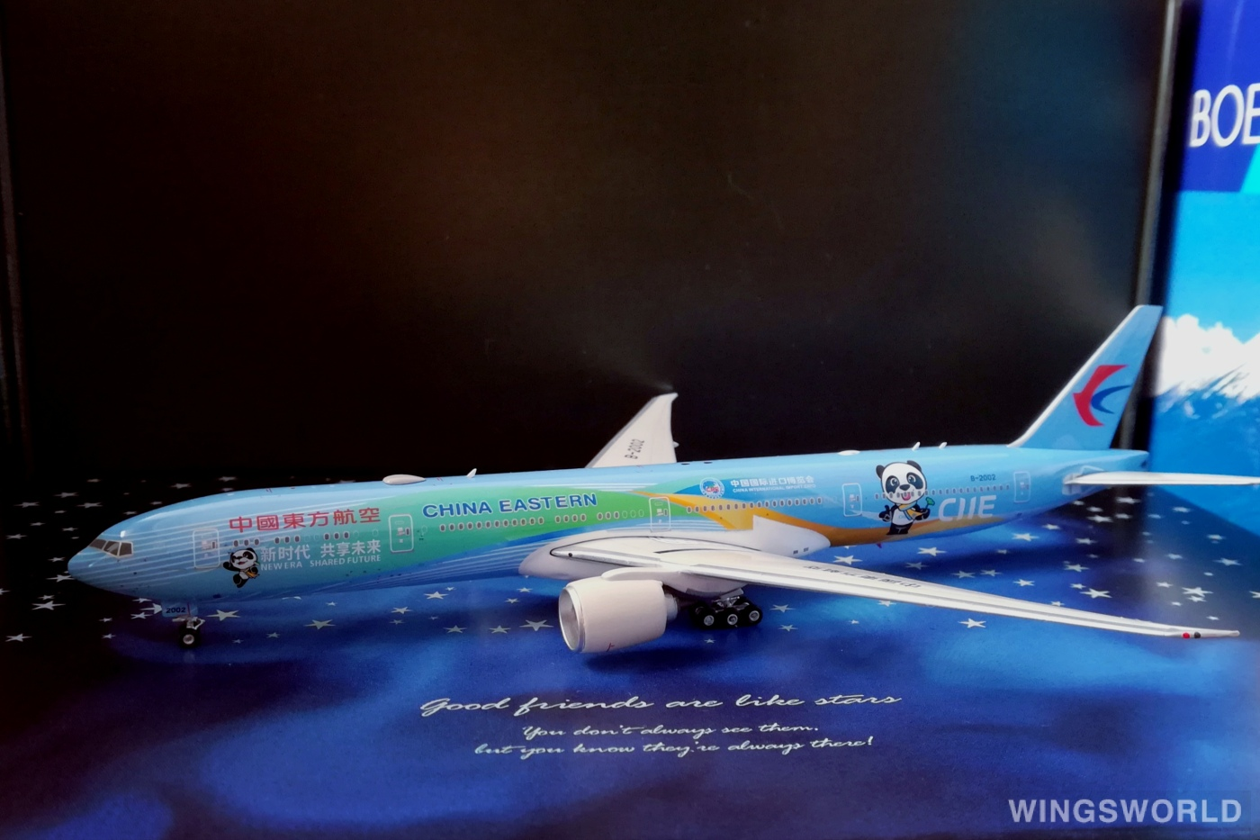 Phoenix 1:400 PH11630 China Eastern 中国东方航空 Boeing 777-300ER B-2002
