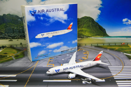 Air Austral 留尼旺航空 Boeing 787-8 F-OLRB  LH4032 JC Wings 1:400