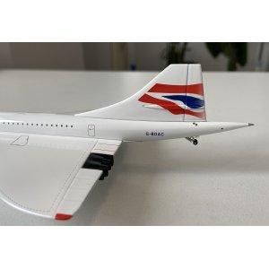 British Airways 英国航空 Concorde G-BOAC  HG8843AC Hogan 1:200