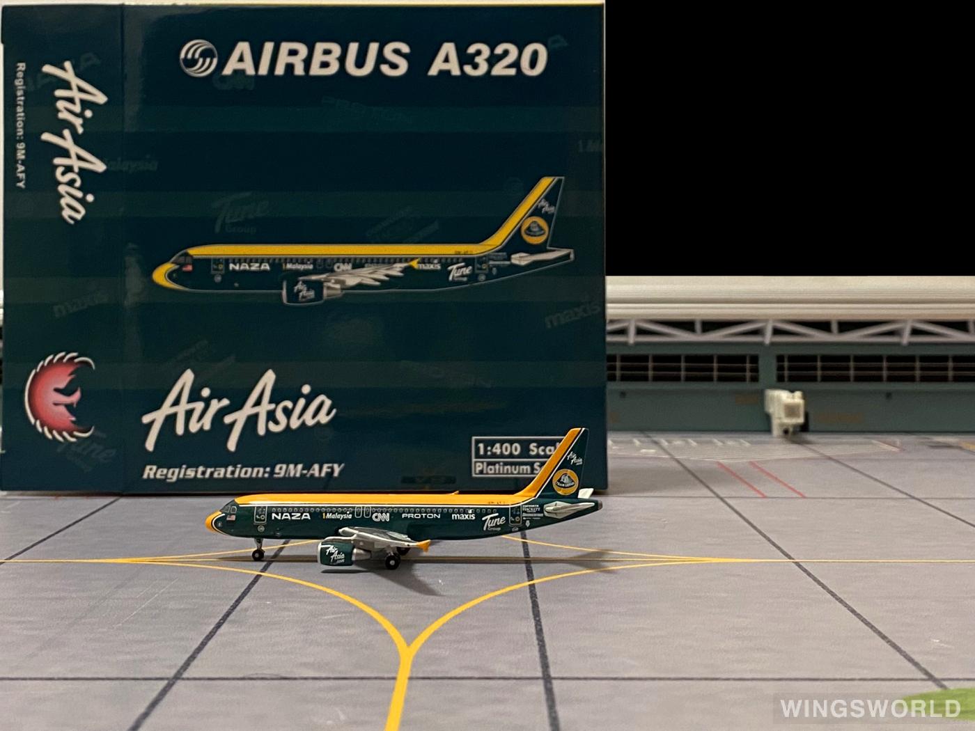 Phoenix 1:400 PH10547 AirAsia 亚洲航空 Airbus A320 9M-AFY