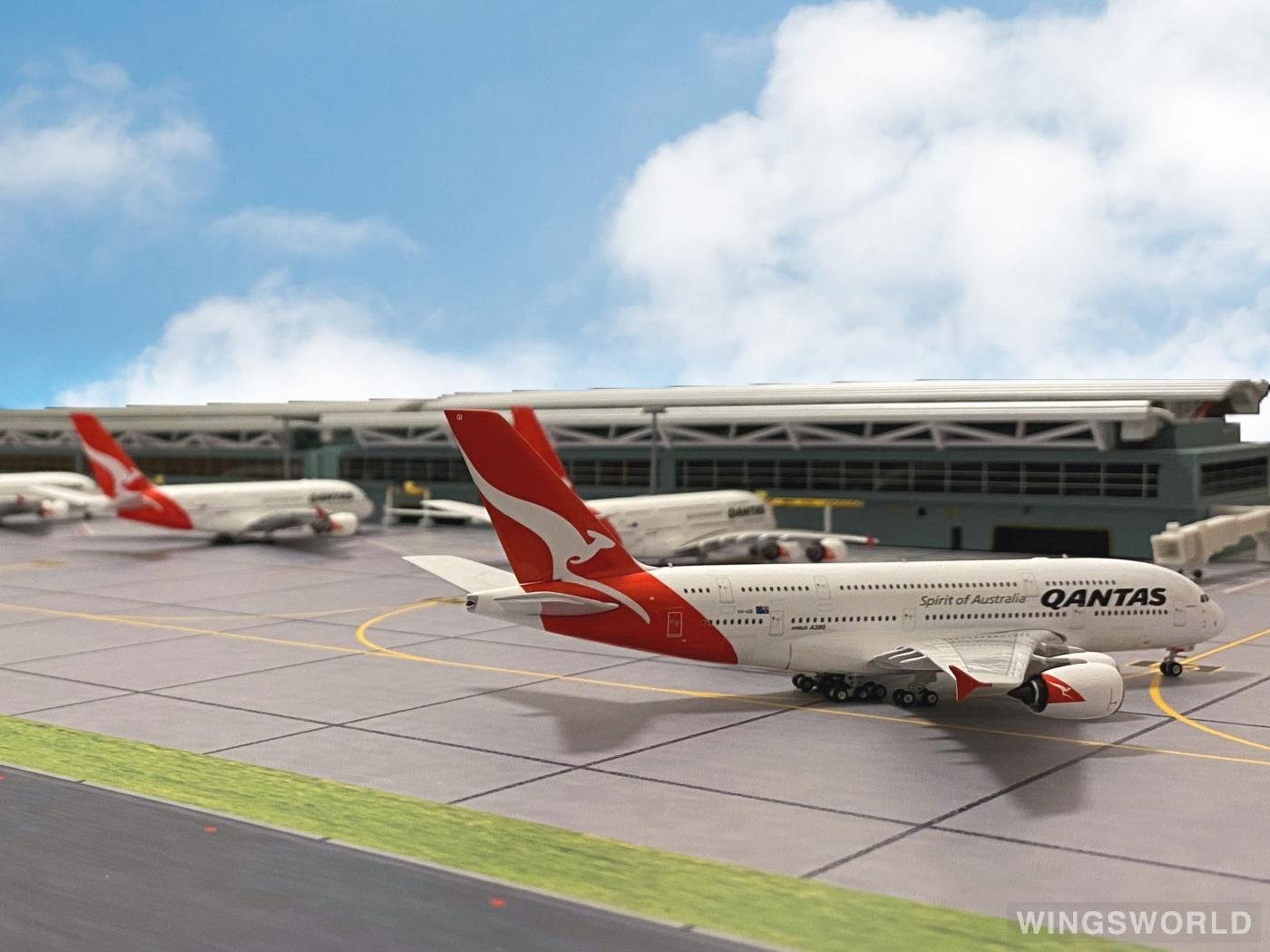 Phoenix 1:400 PH04354 Qantas 澳洲航空 Airbus A380-800 VH-OQI