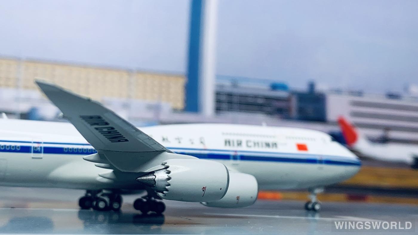 Geminijets 1:400 GJCCA1442 Air China 中国国际航空 Boeing 747-8 B-2486
