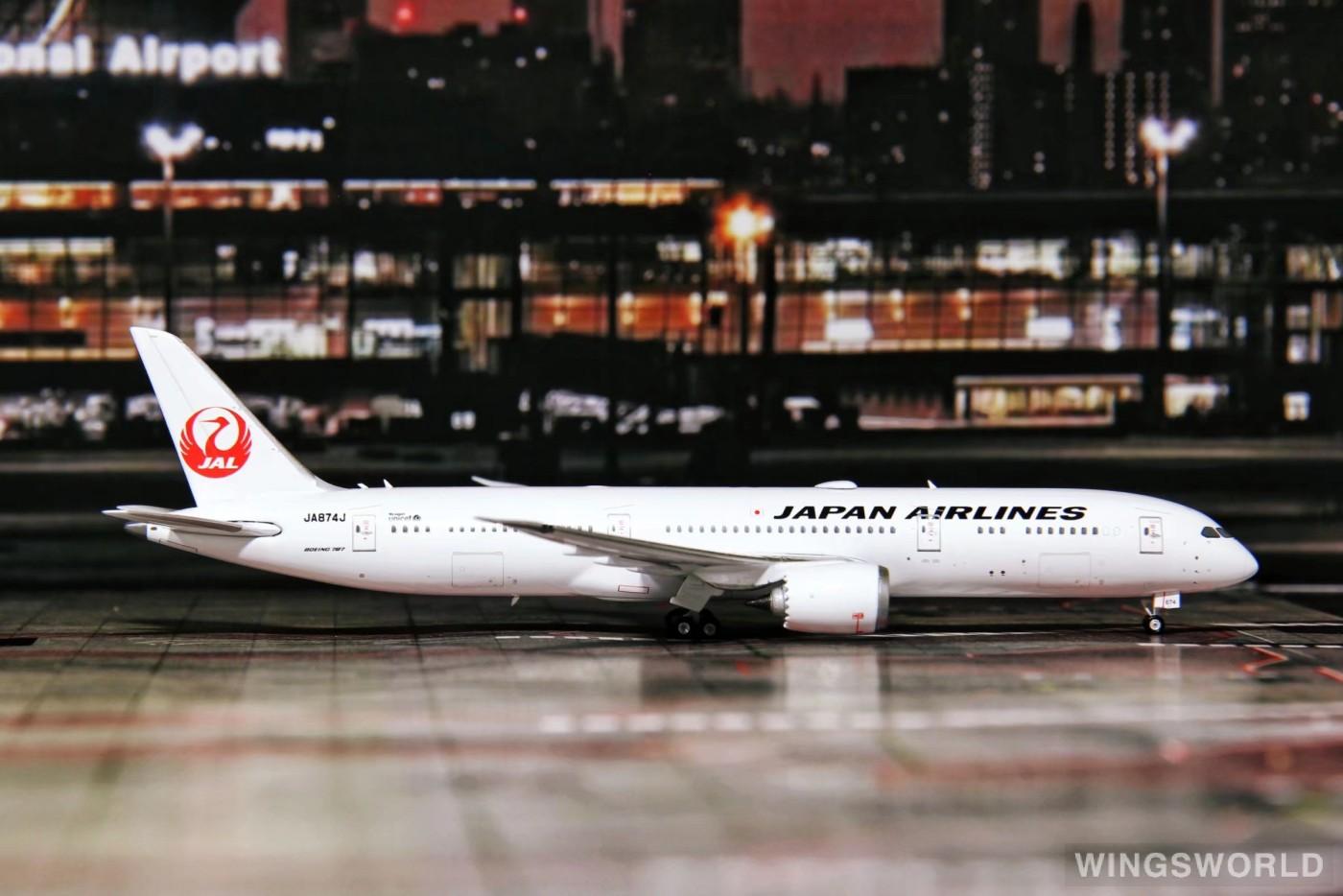 Phoenix 1:400 PH04226 Japan Airlines 日本航空 Boeing 787-9 JA874J