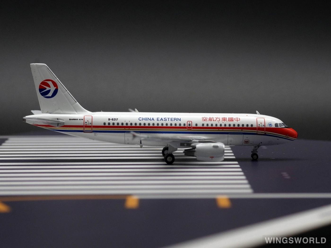 Pandamodel 1:400 PM-B-6217 China Eastern 中国东方航空 Airbus A319 B-6217