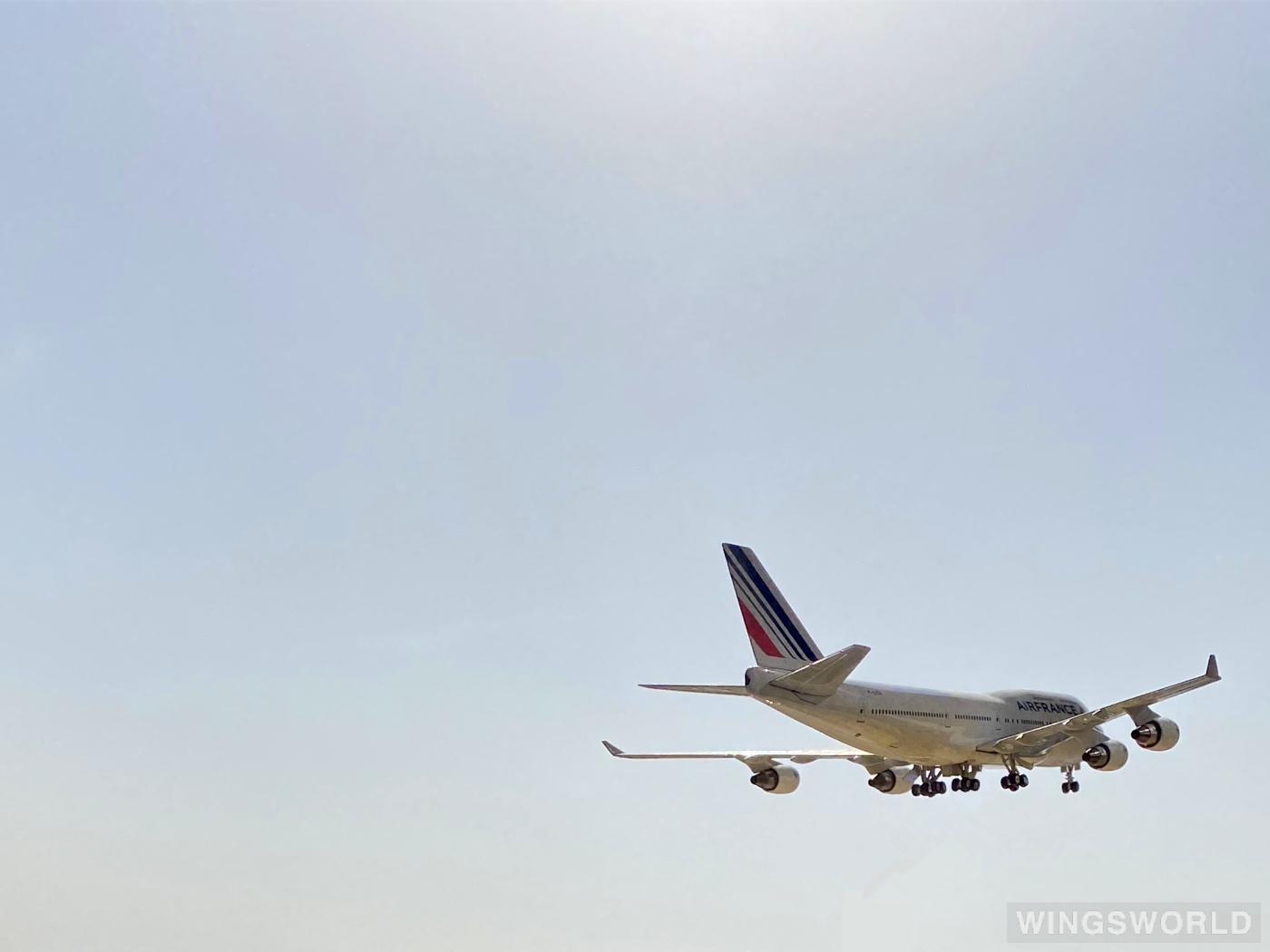 Phoenix 1:400 PH10388 Air France 法国航空 Boeing 747-400 F-GITH