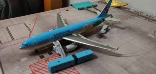 Korean Air 大韩航空 Airbus A300-600 HL7242 Jeju JX443 Jet-X 1:400