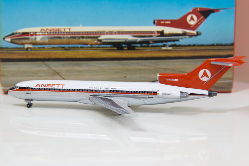 Ansett 澳洲安捷航空 Boeing 727-200 VH-RMK  55461 Dragon Models 1:400
