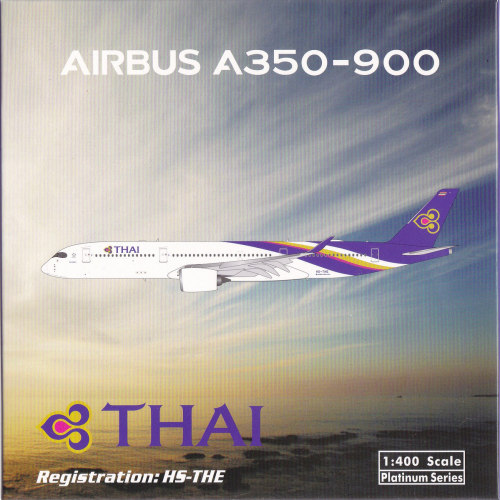 Thai Airways 泰国国际航空 Airbus A350-900 HS-THE  PH11639 Phoenix 1:400