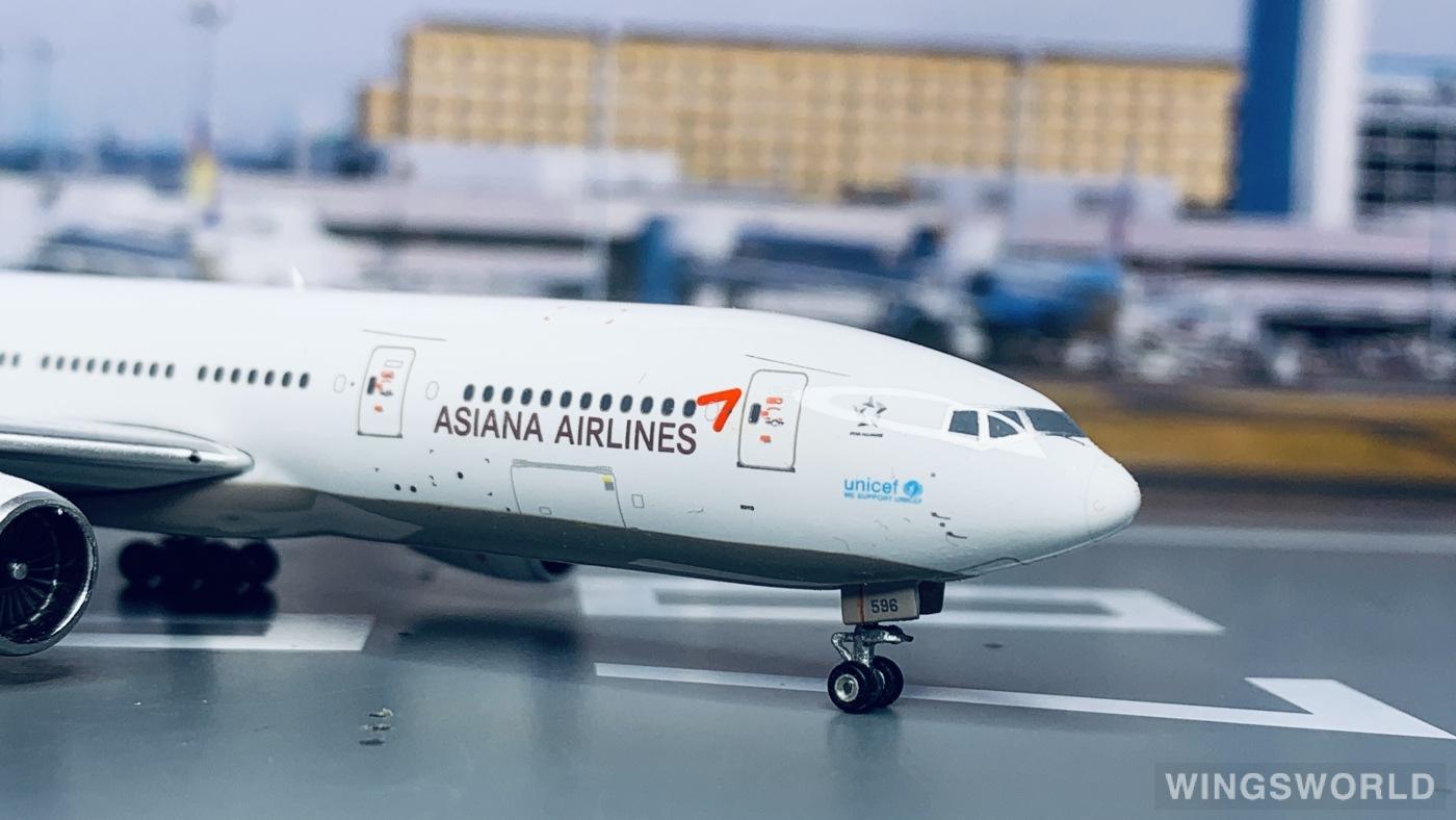 Phoenix 1:400 PH11313 Asiana 韩亚航空 Boeing 777-200 HL7596