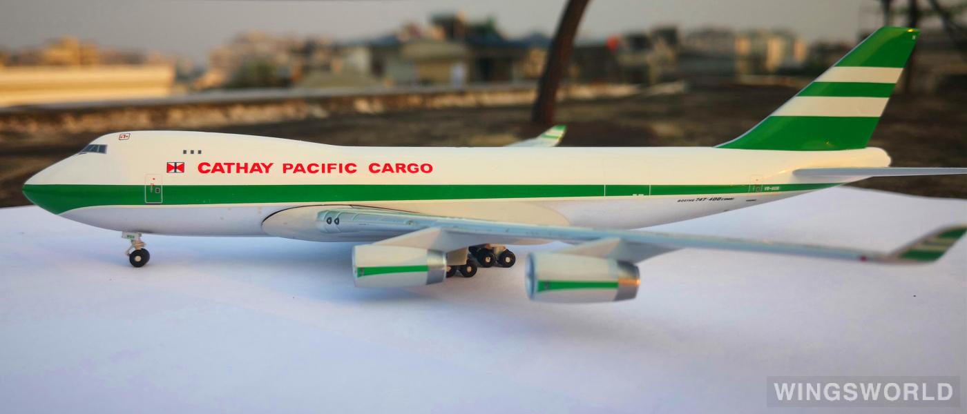 Big Bird 1:400 BB4-2003-XX Cathay Pacific 国泰航空 Boeing 747-200 VR-HUH