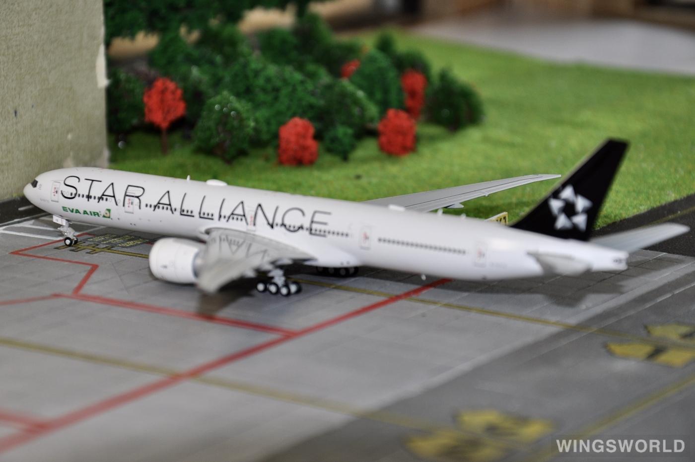 Dream Air 1:400 DAEVA715 EVA Air 长荣航空 Boeing 777-300 B-16715