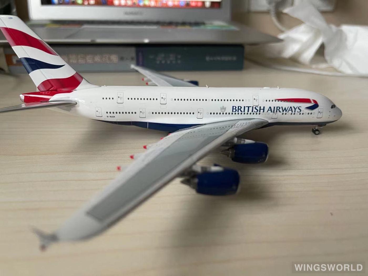 Phoenix 1:400 PH10766 British Airways 英国航空 Airbus A380-800 G-XLEA