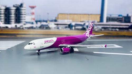 Peach Aviation 乐桃航空 Airbus A320 JA801P  PH10649 Phoenix 1:400