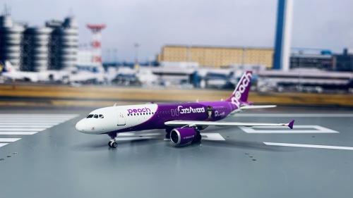 Peach Aviation 乐桃航空 Airbus A320 JA808P  PH04049 Phoenix 1:400