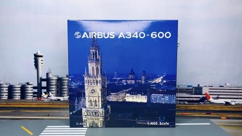 Lufthansa 汉莎航空 Airbus A340-600 D-AIHK 拜仁 PH04099 Phoenix 1:400